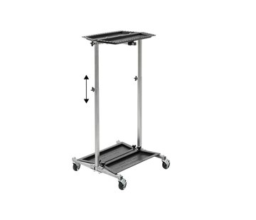 Ultra Dent Tools Ultra lightweight stainless steel PDR tool trolley from Ultradent