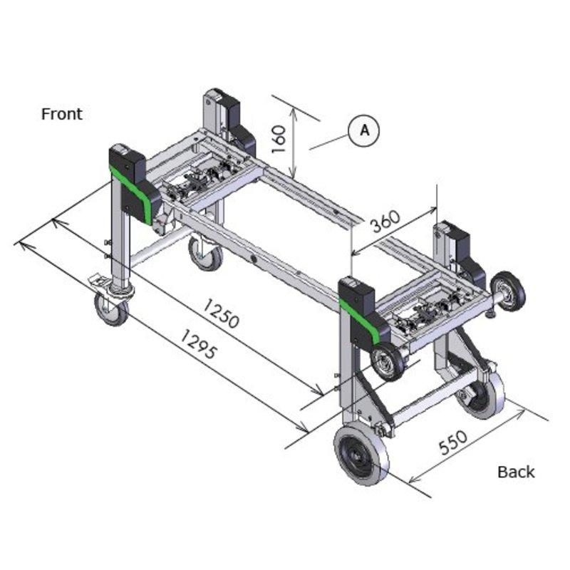 Dynnox XL36 sistema multifunzionale di (s)carico