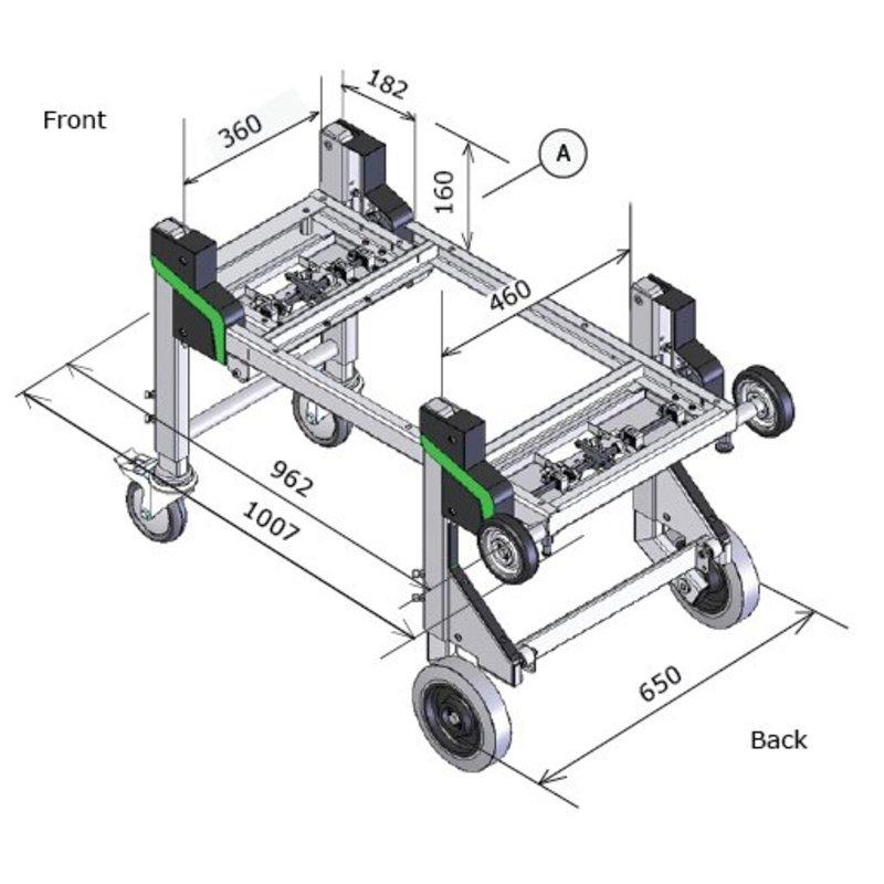 Dynnox L46 sistema multifunzionale di (s)carico per veicoli