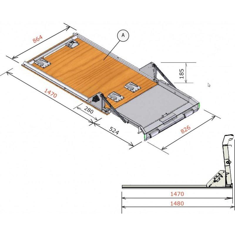 Dynnox XL53 sistema multifuncional de carga y descarga