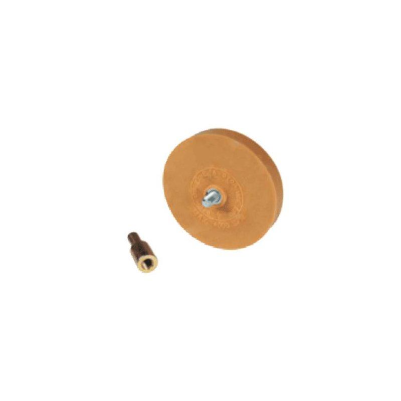 Strumento per cancellature ad aria compressa con 1 disco