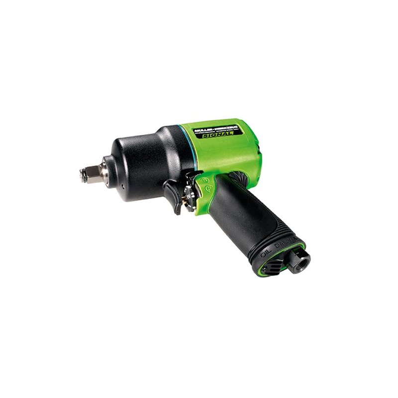 "Heavy-Duty Pneumatic Impact Wrench 1/2"" 1600 Nm"