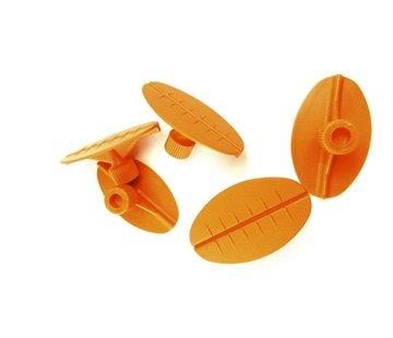 Dent Tool Company Glue Tabs oval Flex 50x30 mm - 10 pcs