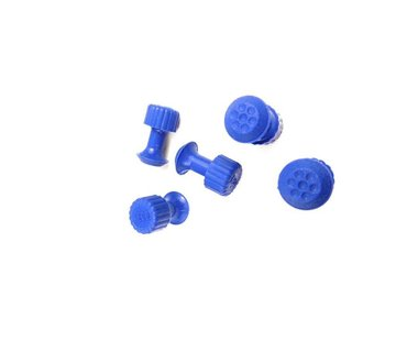 KECO Keco 8 mm Dimpled Round Hail Tab - 5 pcs