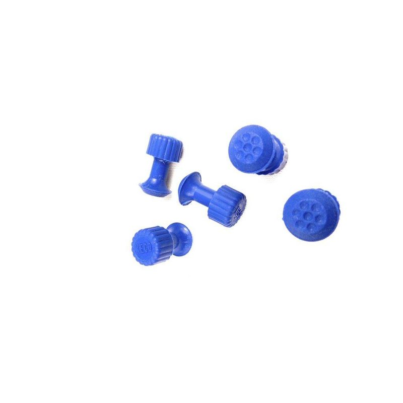 Keco 8 mm Dimpled Round Hail Tab - 5 pcs