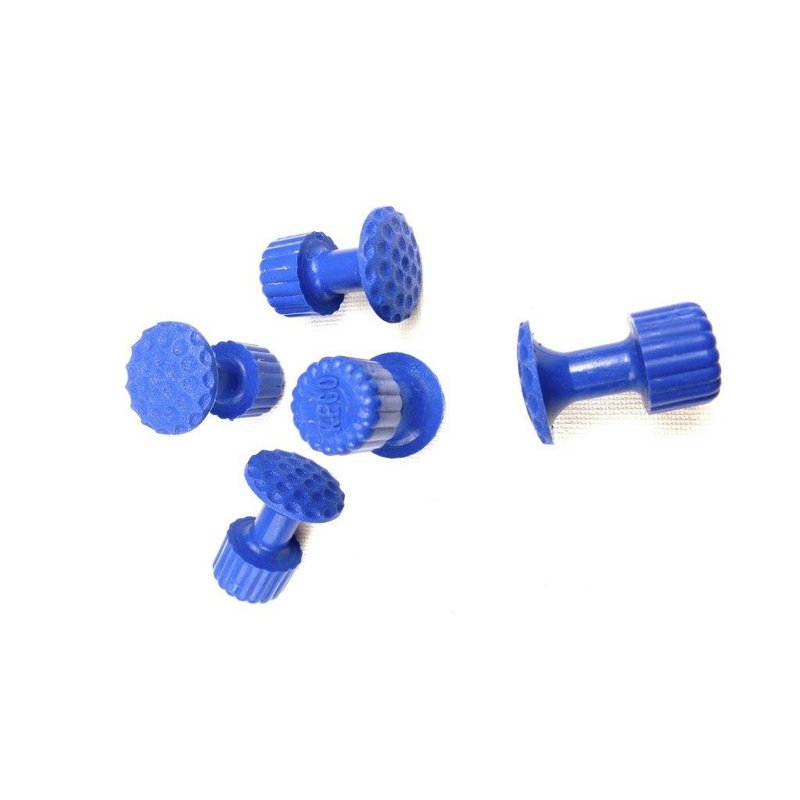 Keco 16 mm Dimpled Round Hail Tab - 5 pcs