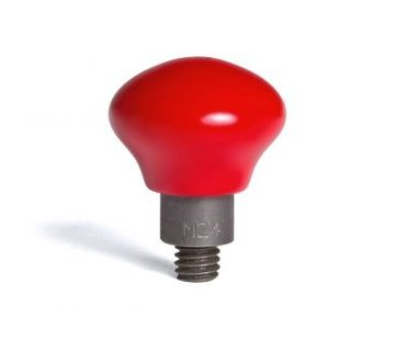 "Dentcraft Tools Mushroom coated in hard red PVC 24/16"" (38,10 mm) working diameter"