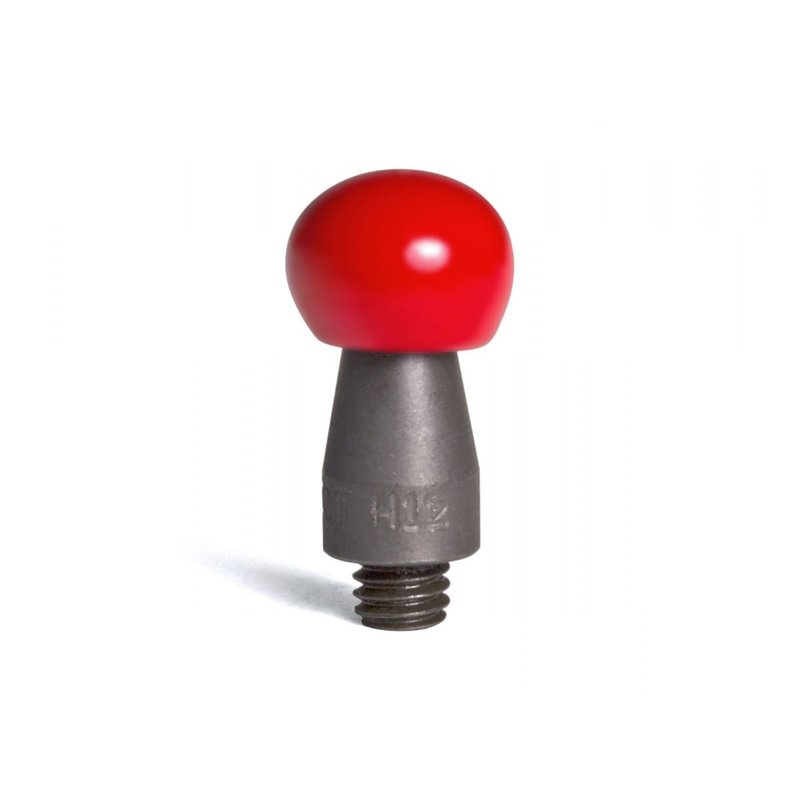 "Half inch tip with hard red PVC 12/16"" (19,05 mm) working diameter"