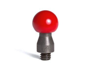 "Dentcraft Tools Round steel tip coated in hard red PVC 8/16"" (12,70 mm) working diameter"