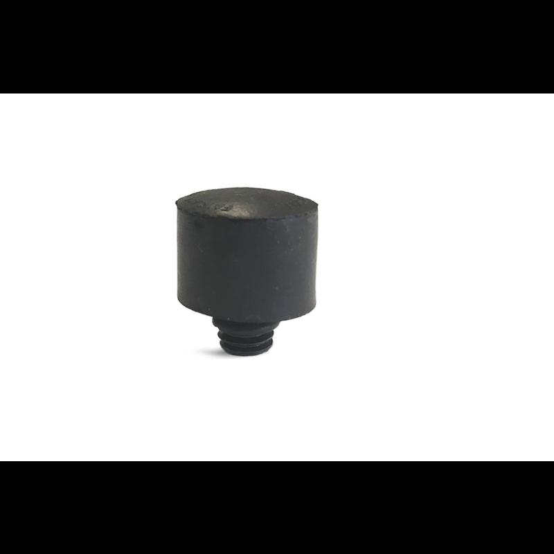 Screw-on Black neoprene softtip