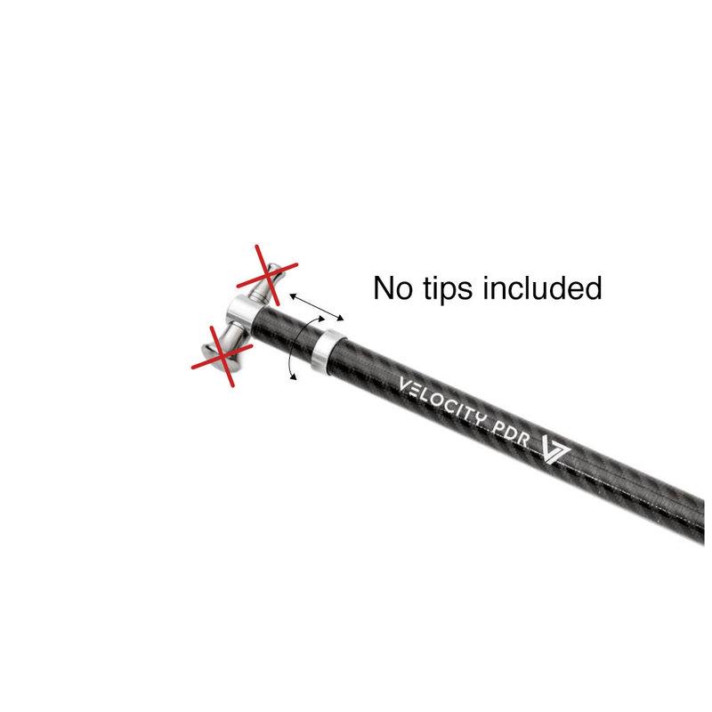Velocity PDR marteau à carbone extensible