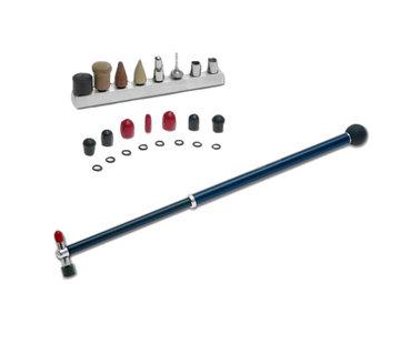 Ultra Dent Tools Ultra Dent Uitschuifbare carbonfiber blending hamer met bal-handvat en tip set