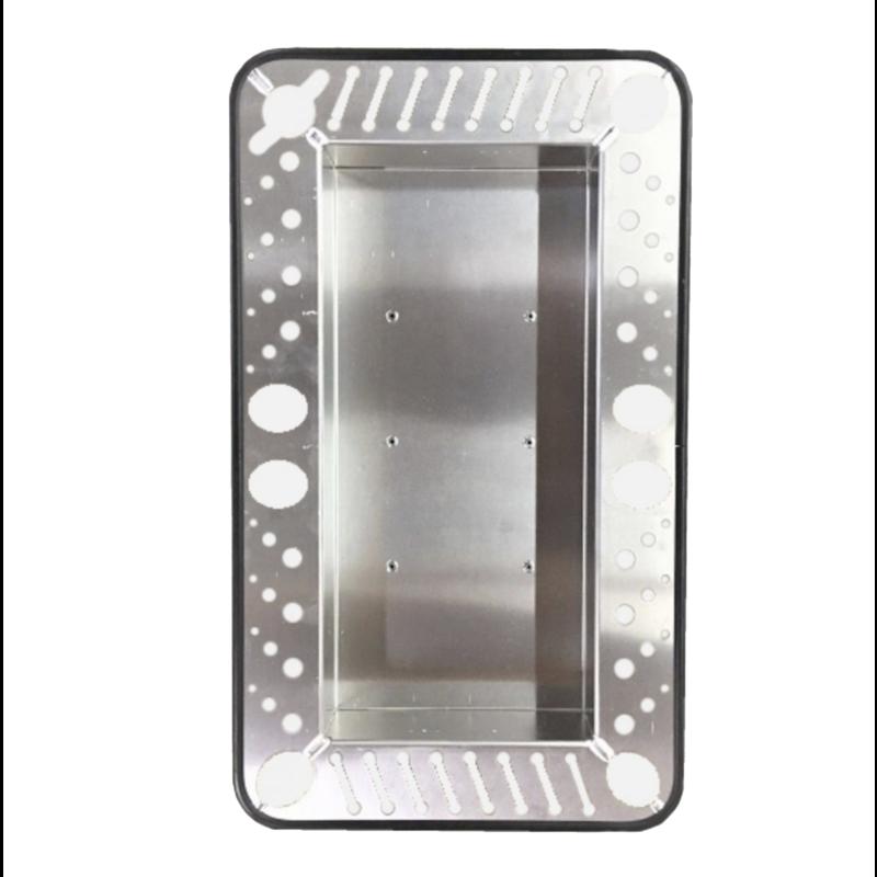 Carrello portautensili in alluminio Pro PDR con supporto verticale