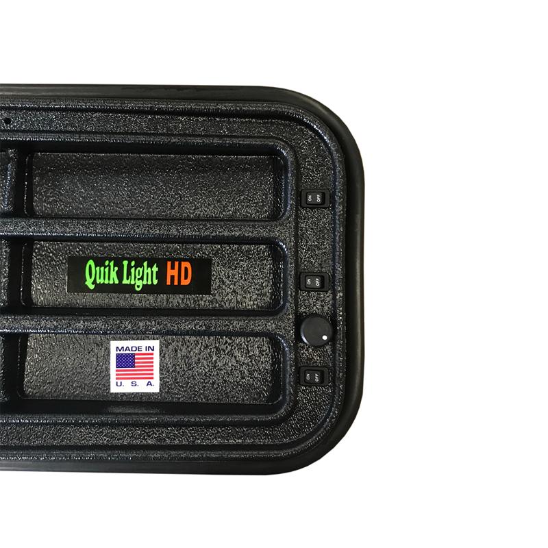 """Pro PDR 36"""" (91 cm) Quik light 3-LED con atenuador"""