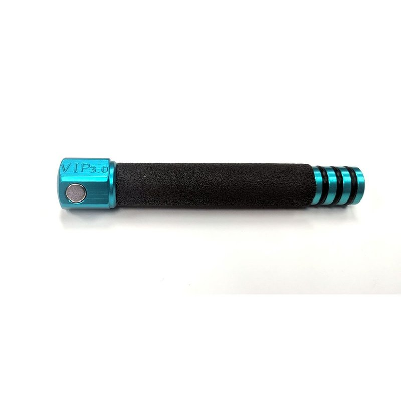 VIP 3.0 Blue Aluminium Knockdown with 3 interchangeable tips