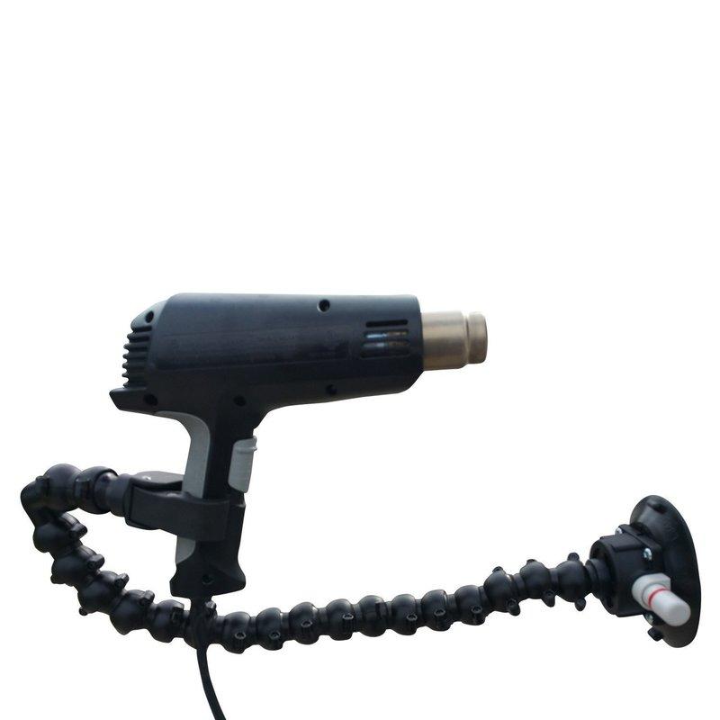 The Claw - Heißluftpistolenhalterung mit Saugnapf