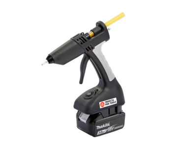 Anson PDR Trifecta Cordless Glue Gun  with Makita battery adapter