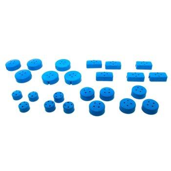KECO Keco pivoting tips variety pack (fits R4 tips) - 24 pcs