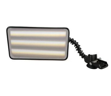 """Pro PDR Chubby HD de 18 """"(46 cm) 6 tiras de LED con dimmer y adaptador de batería Makita"""