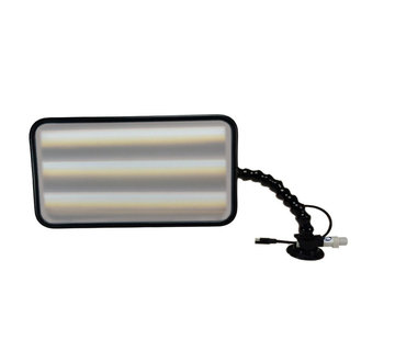 Pro PDR Pro PDR 35 cm (14 Zoll) Quik-HD 6-LED dimmbar mit 12V Zigarettenanschluß