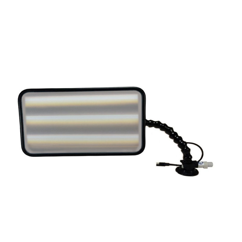 """Pro PDR 14"""" (35 cm) Quik-HD 6-LED dimmable with 12V car plug"""