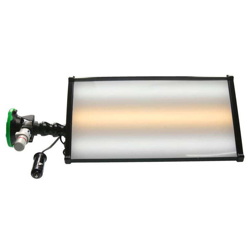 "Mobile 12v mini light 12"" (30 cm) 3-LED-strips with 12V car plug"