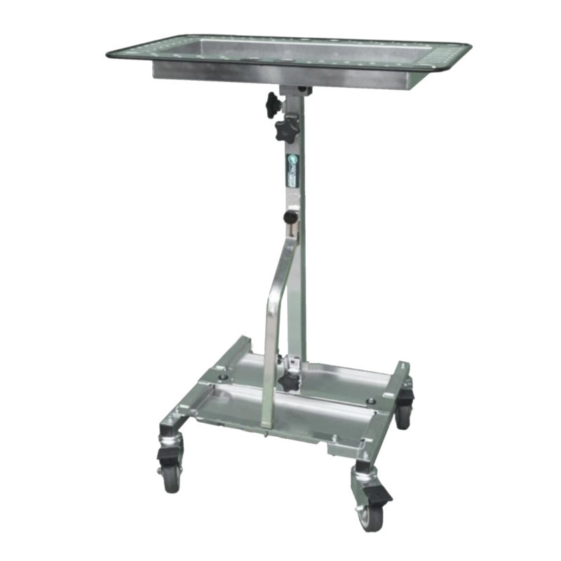 Aluminiowy wózek narzędziowy Pro PDR z pionowym wspornikiem