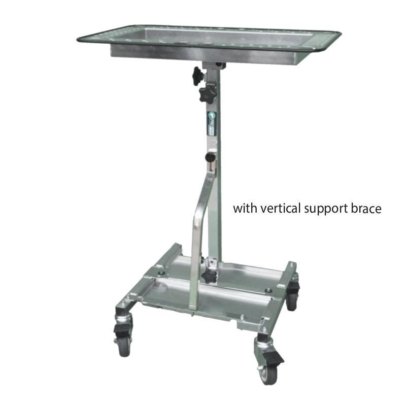 Carro de herramientas de aluminio de Pro PDR con soporte vertical