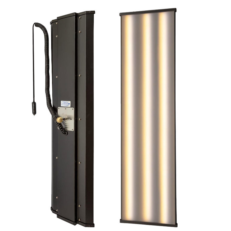 """Ultra Dent 36"""" (91 cm) Ausbeullampe mit 6-LED-Streifen, Fernbedienung und Stativ"""