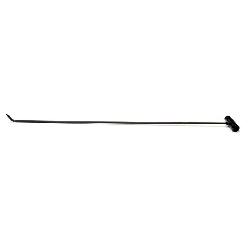 """Single Bend Interchangeable tip rod 42"""" (104 cm), 3/8"""" diameter"""