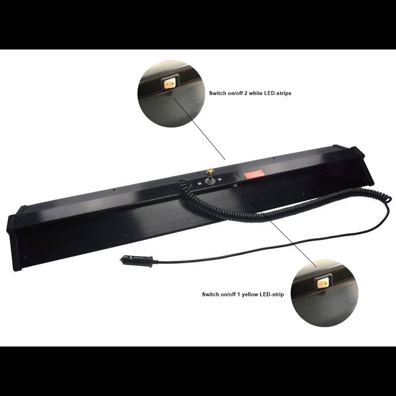 """Ultra Dent 36"""" (91 cm) juego de luces de 3 LED con soporte"""