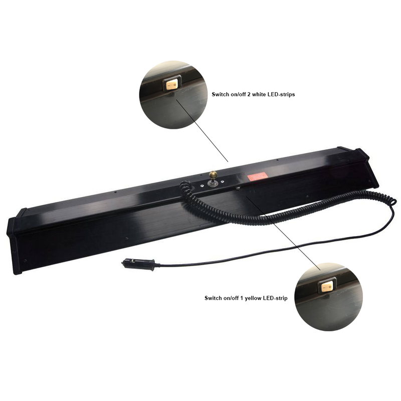 "Ultra Dent 36"" (91 cm) light-set 3-LED with stand"