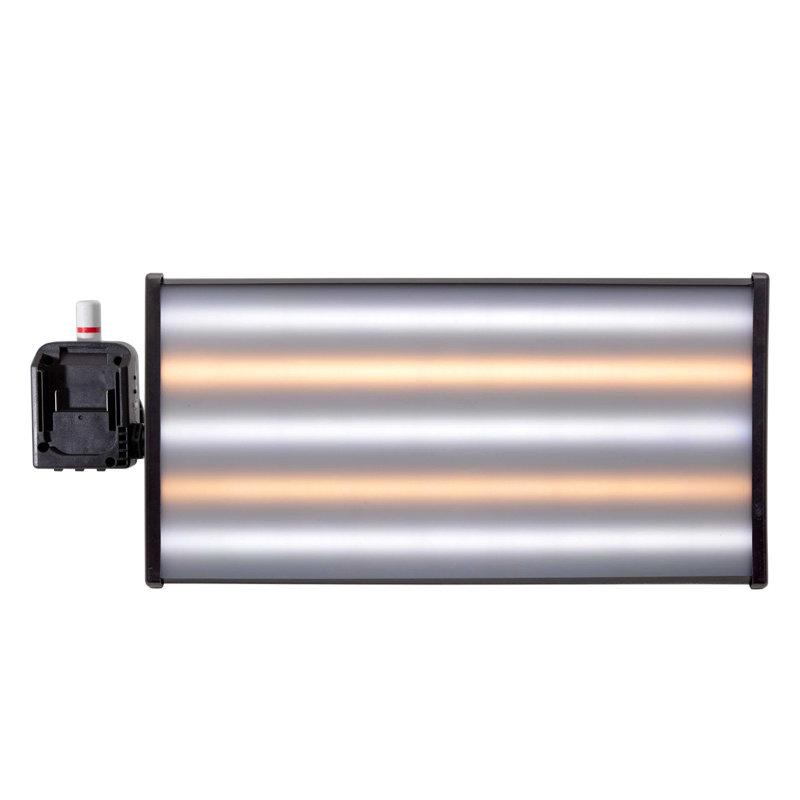 "Draadloze 18V mini lamp 18"" (45 cm) 5-LED-strips met Makita adapter"