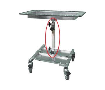 Pro PDR Carrello portautensili in alluminio Pro PDR con supporto verticale corto