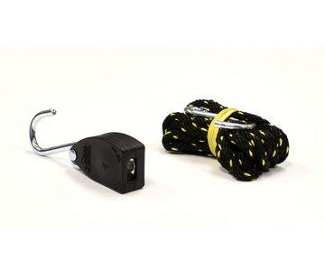 """A-1 Tool 1/8"""" Spannband mit S-Haken & Ratsche klein"""