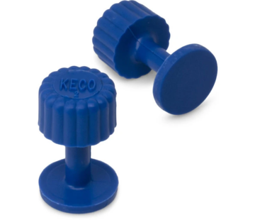 KECO Dead Center 13 mm Blue Smooth Finishing Glue Tab - 10 pcs
