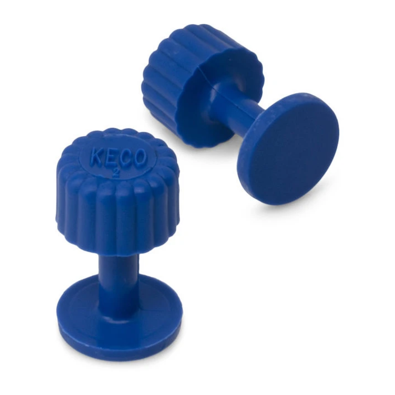 Dead Center 13 mm Blue Smooth Finishing Glue Tab - 10 pcs