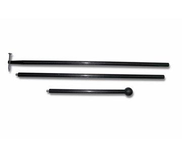 Power PDR Power PDR Lightweight carbon rod (lengte tot 267 cm)