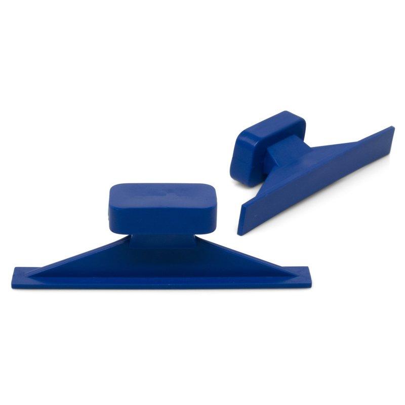 Dead Center 55 x 7 mm Blue Straight Crease glue tabs - 5 pcs