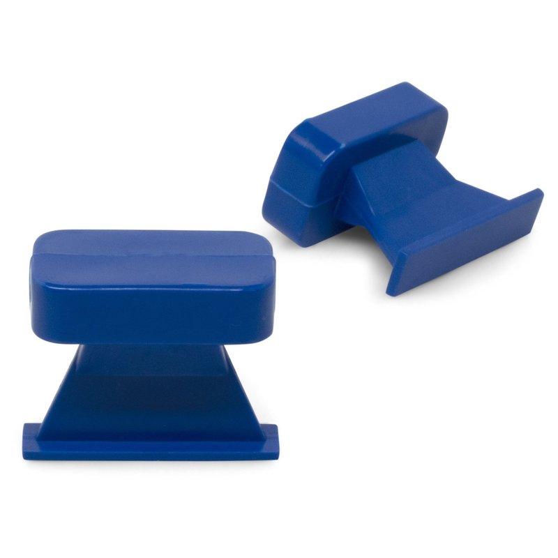Dead Center 21 x 5 mm Blue Straight Crease glue tabs - 5 pcs