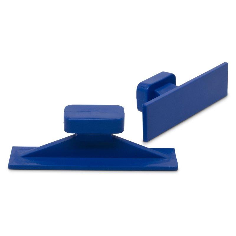 Dead Center 55 x 14 mm Blue Straight Crease glue tabs - 5 pcs