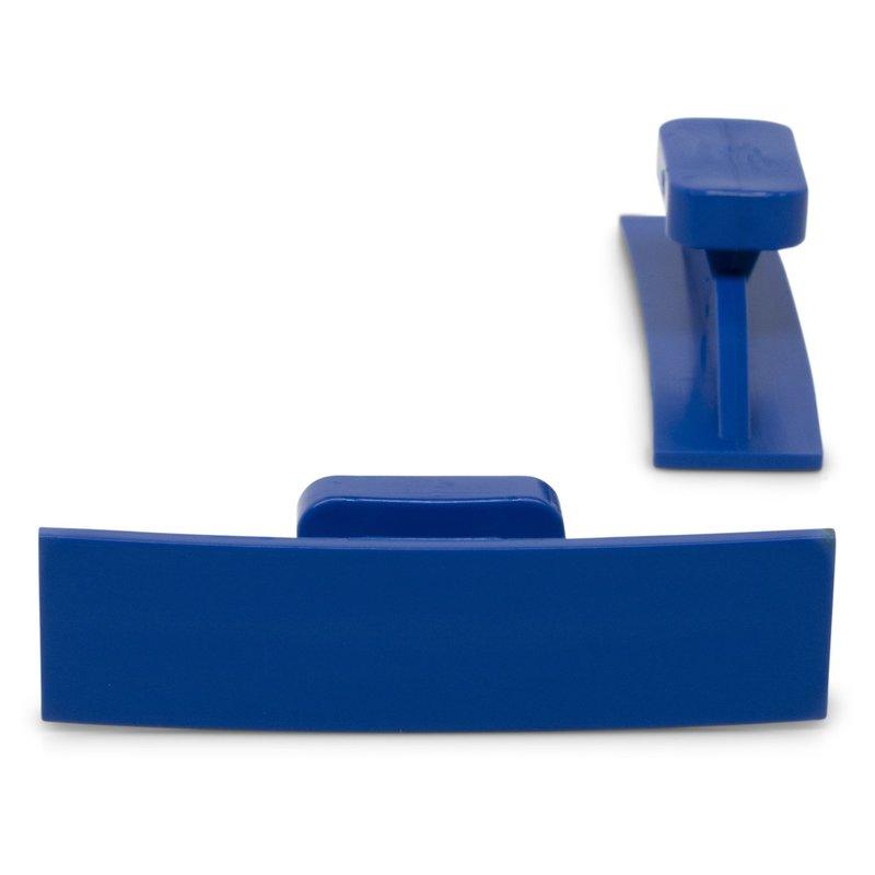 Dead Center 55 x 14 mm Blue Curved Crease glue tabs - 5 pcs