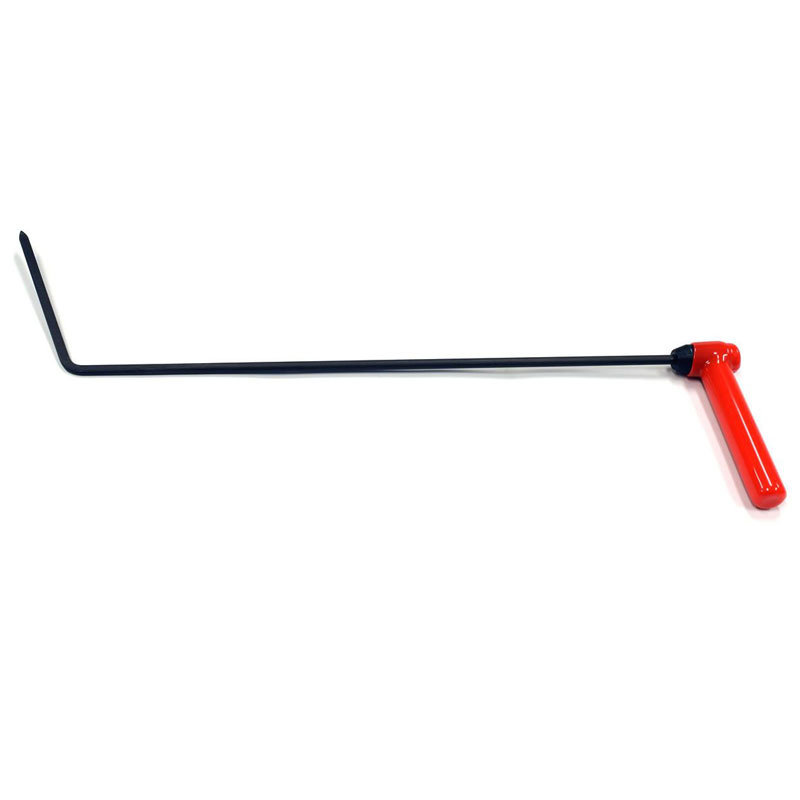 "Indexable Handle flag tool 24"" (60,96 cm), 6"" Flag, 5/16"" (7,94 mm) diameter"