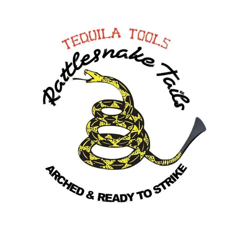 Tequila Rattlesnake Tail Set - 5 pcs