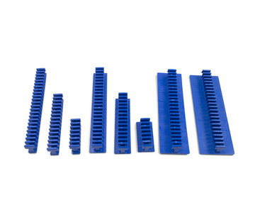 KECO Centipede Variety Pack Blue Flexible Smooth Crease glue tabs - 8 pcs