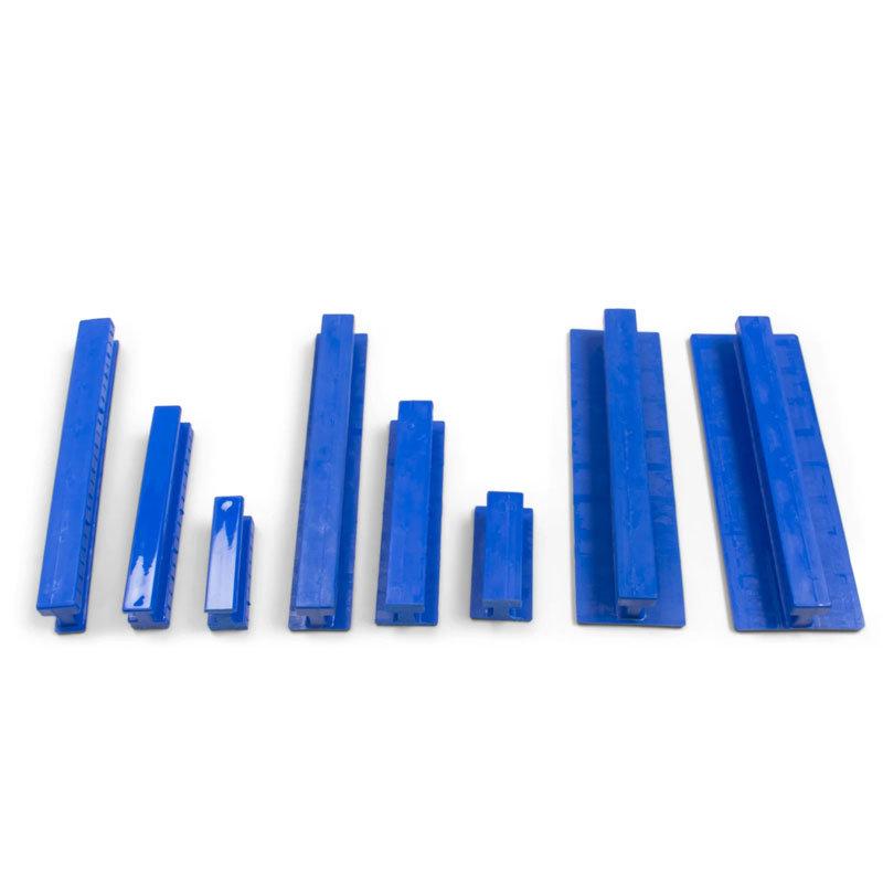 Centipede Variety Pack Blue Rigid Smooth Crease glue tabs - 8 pcs