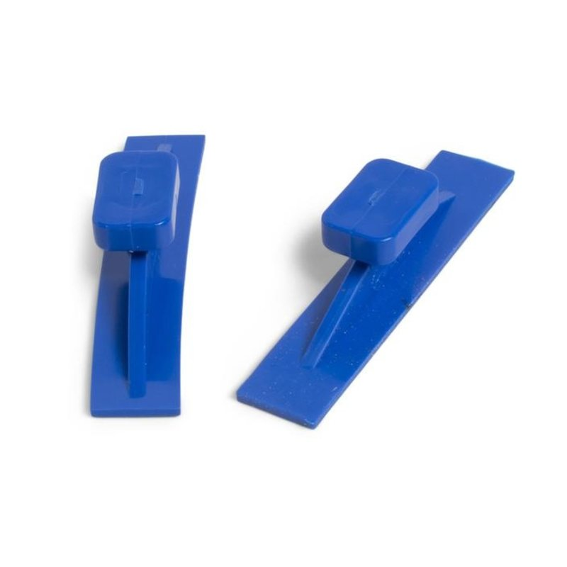 Dead Center Variety Pack Blue Straight & Curved Crease Glue Tabs - 18 pcs