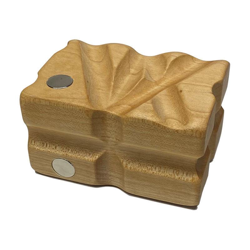 VIP thin magnetic support hardwood leverage block