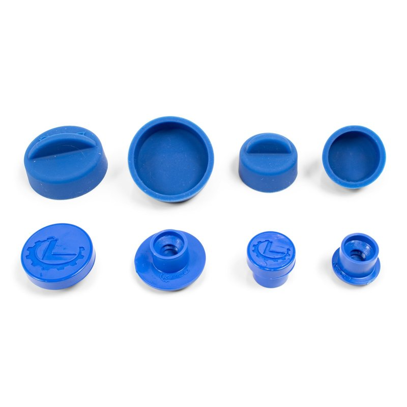 Keco Cold Glue Hail Tab and Silicone Cap Set - 4 tabs