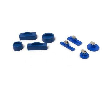 KECO Keco Cold Glue Tabs and Silicone Caps - 4 tabs